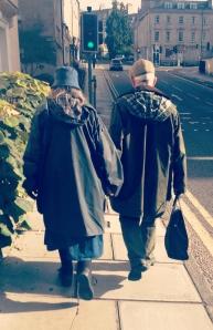 A Saturday stroll